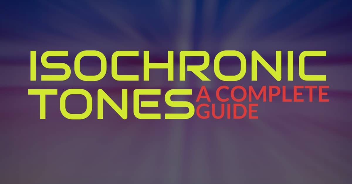 what are isochronic tones